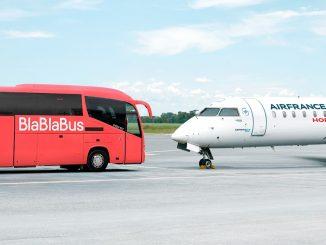Air France vole aussi en bus à Lyon