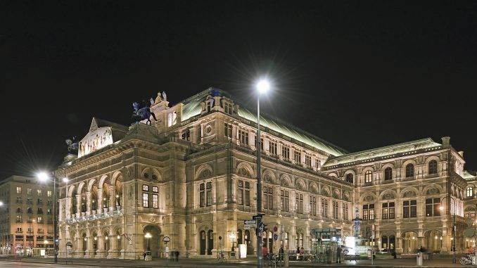 Autriche Opera de Vienne