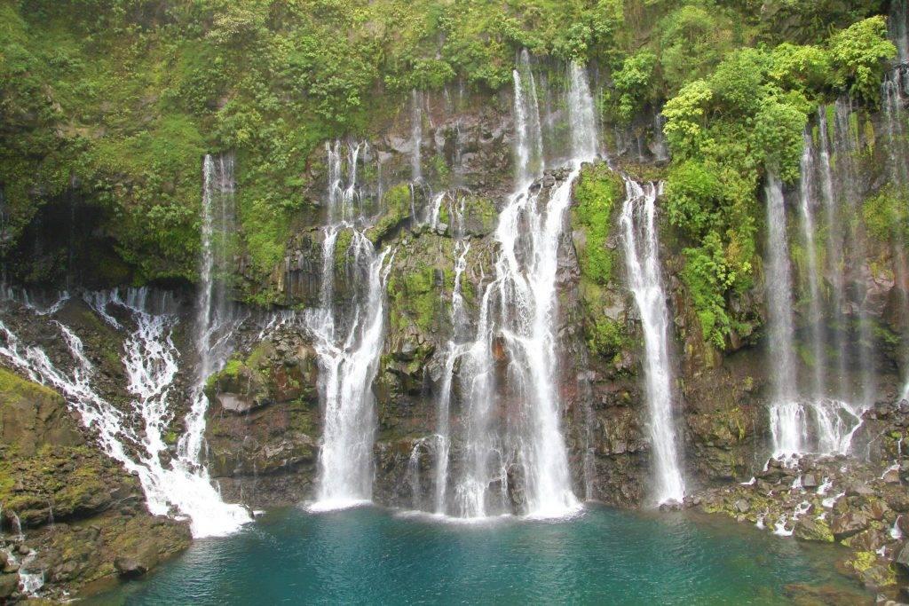 Cascade à l'Ile de La Réunion