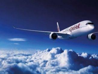 l'A350 900 de Qatar Airways