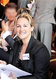 Isabelle Mislanghe qui sourit