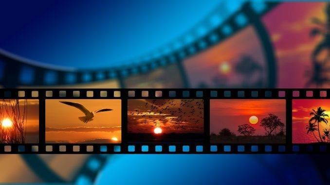 Pellicule d'images de film