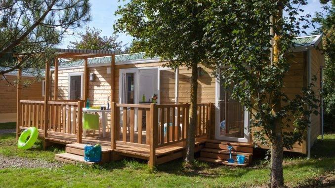 Mobil Home au camping Sunissim Le Paradis