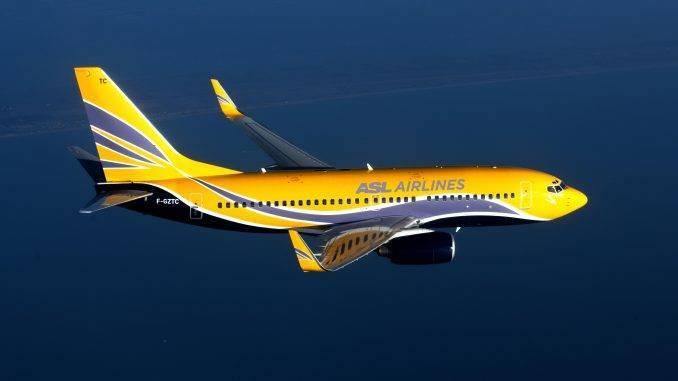 avion d'ASL Airlines