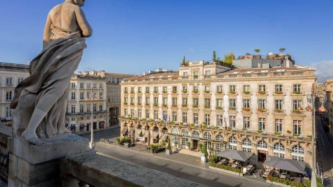 Façade de l'InterContinental Bordeaux