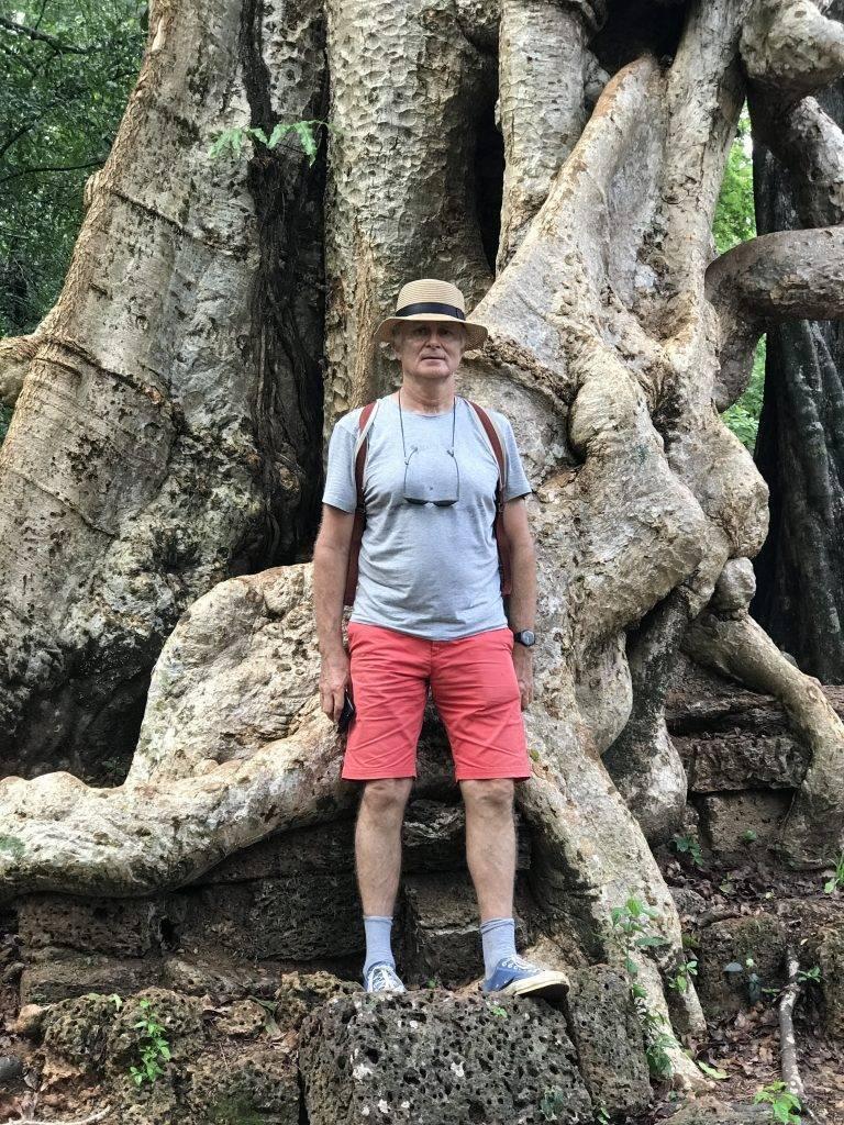 Didier Lefort à Sao Tome