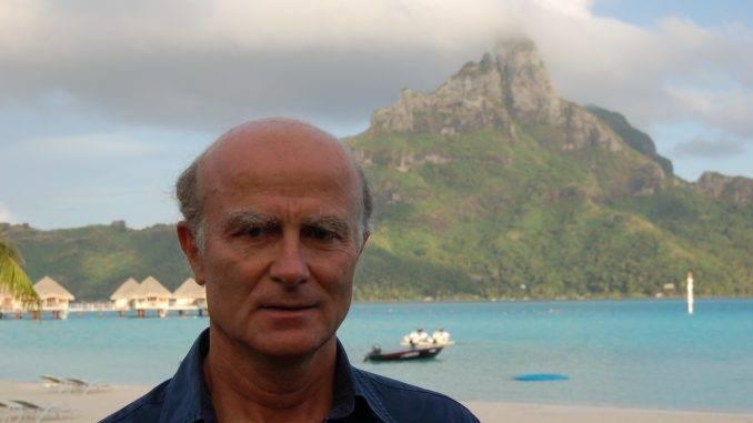 Didier Lefort à Bora Bora