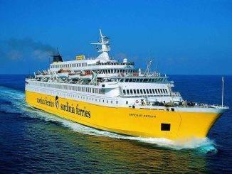 Ferry de Corsica Ferries
