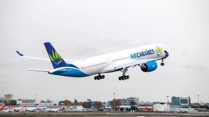 Appareil A350-1000 d'Air Caraïbes