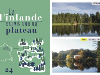 Double page livre voir le monde sans quitter la France